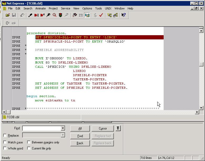 how to get user id inside cics program